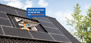 Oscar legt zonnepanelen op zijn dak