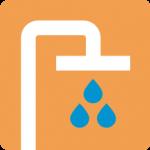 Pictogram water besparen