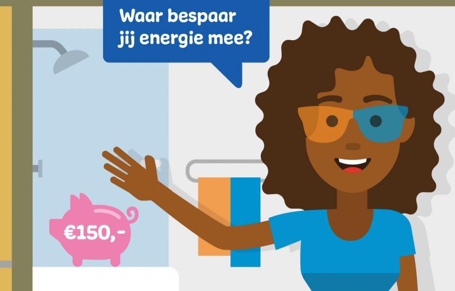 energie besparen met warm water